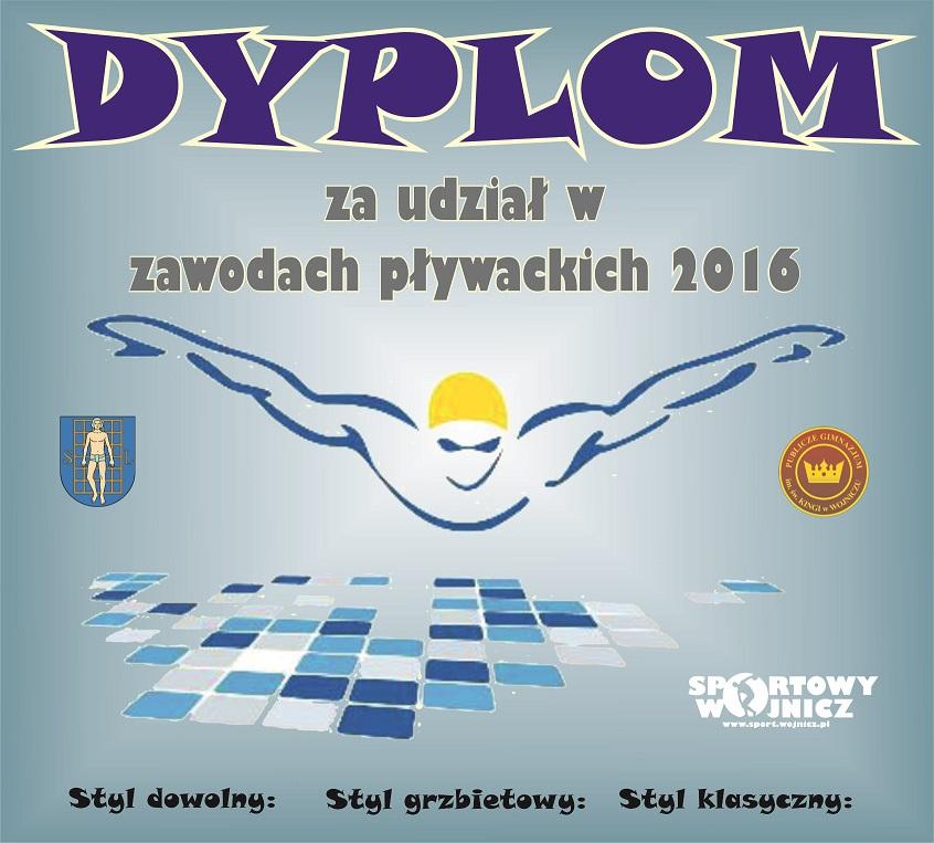 zawody-plywackie-dyplom